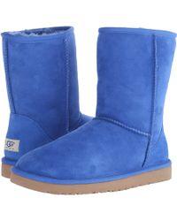 Ugg Blue Classic Short - Lyst