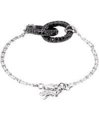 Carolina Bucci - Diamond  Gold Doublelink Bracelet - Lyst