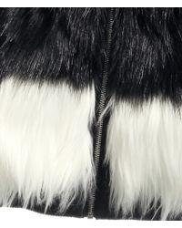 H&M Fake Fur Jacket - Black