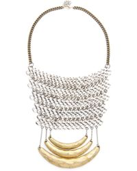 Laura Cantu - Chain Drop Necklace - Lyst
