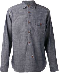 Junya Watanabe Contrasting Plaid Shirt - Lyst