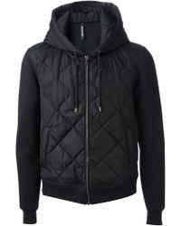 Neil Barrett Quilted Jersey Jacket - Lyst