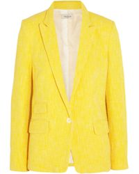 Paul & Joe Cotton-Blend Tweed Jacket - Lyst