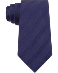 Calvin Klein Tone On Tone Patterned Tie - Lyst