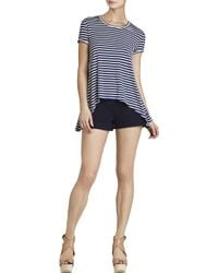 BCBGMAXAZRIA Mya Open-back Draped T-shirt - Lyst