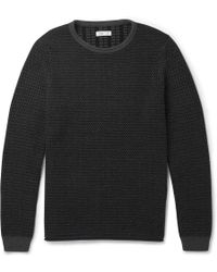 Folk Patterned Cotton Sweater - Lyst