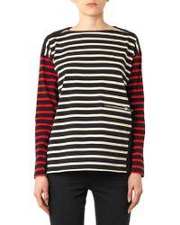 Stella McCartney Multi-Stripe Cotton Top - Lyst