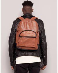 Pull&Bear Print Backpack - Lyst