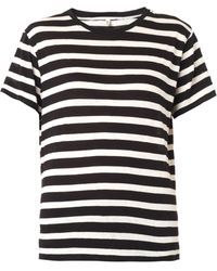 R13 Striped Cotton and Cashmere Tshirt - Lyst