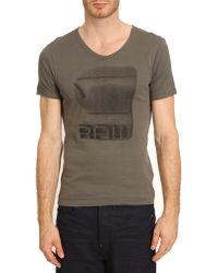 G-star Raw Termdal Dark Grey Tshirt - Lyst