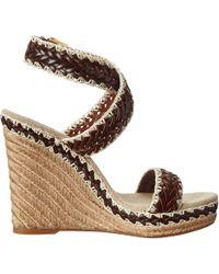 Tory Burch Wedge Sandals - Lyst