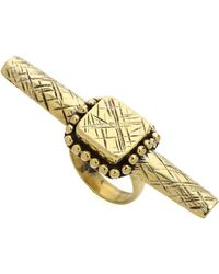 Sunahara - Square Rod Ring - Lyst