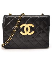 Chanel Pre-Owned Matelasse Chain Shoulder Bag - Lyst