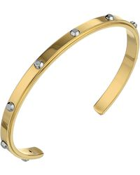 Michael Kors Collection Astor Open Cuff - Lyst