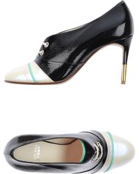 Michel Perry   Lace-Up Shoes   Lyst