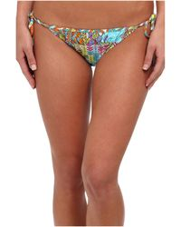 Trina Turk Coral Reef Tie Side Hipster - Lyst