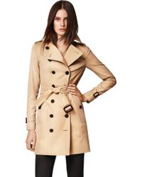 Burberry London Sandringham Mid-Length Heritage Trench - Lyst