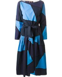 Chloé Geometric Print Dress - Lyst