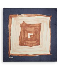 Halston Heritage Silk Painterly Print Scarf - Lyst