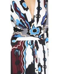Issa - Phylis Printed Silk-blend Jersey Dress - White