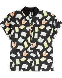 Olympia Le-Tan South Hampstead Printed Blouse multicolor - Lyst
