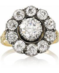 Olivia Collings 18karat Gold Diamond Ring - Lyst