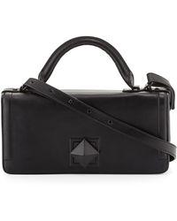 L.A.M.B. Eliza Leather Shoulder Bag - Lyst