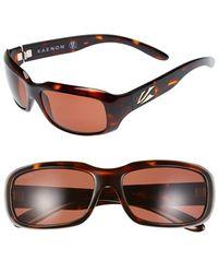 Kaenon | 'bolsa' 55mm Polarized Sunglasses | Lyst
