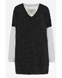 French connection Verona Knit Contrasting Sweater - Lyst