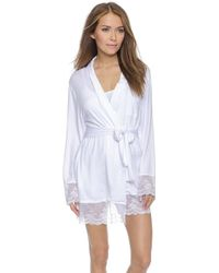 Wildfox Bride Dressing Robe - White Wedding - Lyst