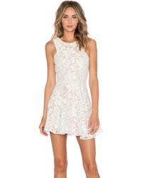 Jarlo Shawe Dress - Natural