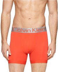 Calvin Klein Men'S Steel Micro Boxer Brief - Lyst