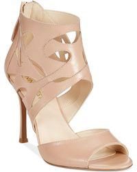 Nine West Fabeyana High Heel Dress Sandals - Lyst