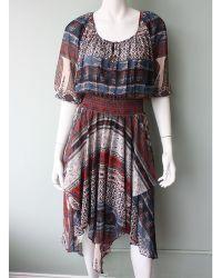 Twelfth Street Cynthia Vincent | Scarf High Waist Dress | Lyst