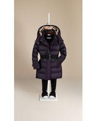 Burberry Showerproof Puffer Coat - Lyst