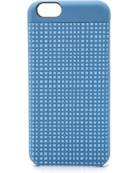 Marc By Marc Jacobs Mini Gingham Mirror Iphone 6 Case - Electric Blue Multi blue - Lyst