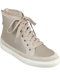 Nine West Bachney High-Top Sneakers - Natural
