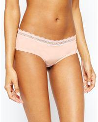 Evollove Rose Blush Brazilian Brief - Pink
