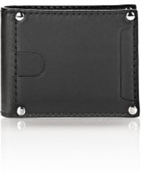 Alexander Wang | Mason Bi-fold Wallet In Smooth Black | Lyst