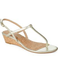 Splendid Spledgewood Wedge Sandals - Lyst