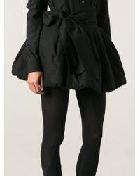 Yohji Yamamoto Wrap Pannier Skirt - Lyst
