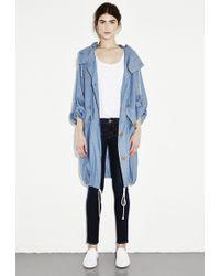 MiH Jeans Oversize Parka - Lyst