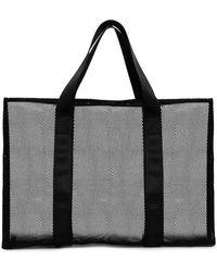 Asos Mesh Beach Bag - Lyst