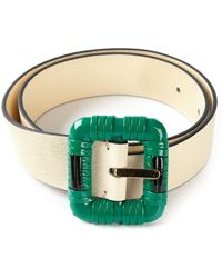 Marni Square Buckle Belt - Lyst
