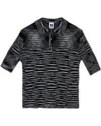 M Missoni | Short Sleeve Sweater | Lyst