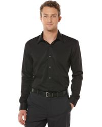 Perry Ellis Big and Tall Long Sleeve Noniron Shirt - Lyst