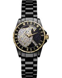 Vivienne Westwood Sloane Showpiece Ceramic Watch - Lyst