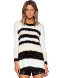 Mink Pink Big Softy Jumper Dress - Lyst