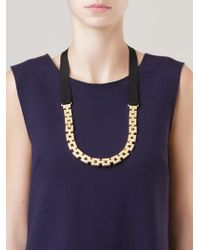 Osklen | Gold-tone Chain Necklace | Lyst