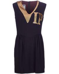 Moschino Sequin Detail Dress - Lyst